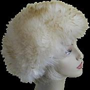 1960's Sheepskin Hat
