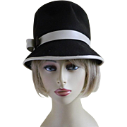 1960's Glenover Fawn Tro Felt 100% Wool Henry Pollack Hat New York