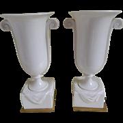 Art Deco Pair of Lenox Lamps, 1930's