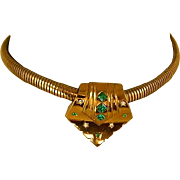 Vintage Coro Pegasus Signed Necklace