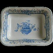 Antique Doulton Burslem Transfer Ware Bowl 1882 - 1891