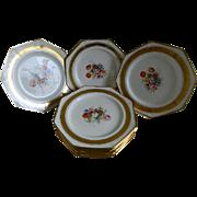 Set of 12 Pareek Johnson Bros England Plates, 1913 -1920's