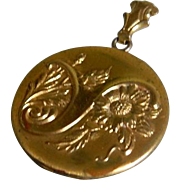 SALE Antique G F Locket