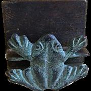 Vintage Frog Business Card Holder