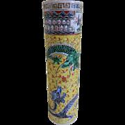 Vintage Chinese China Vase
