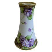 Lovely Hand Painted Morimura Nippon Vase 1891-1921