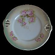 SALE 1920's P K Silesia  Lusterware Cake Plate