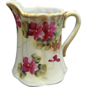 Vintage Japanese Hand Painted Nippon Floral Creamer