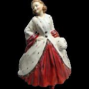 Wonderful Royal Doulton Figurine THE ERMINE COAT HN1981 Retired 1967