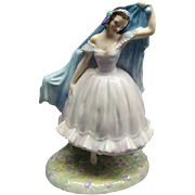 "SALE Royal Doulton Porcelain Figurine ""THE FOREST GLADE GISELLE"" HN2140 Retired"