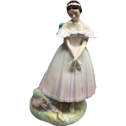 SALE Royal Doulton Porcelain Figurine La Sylphide French Ballet Fairy Nymph HN2138