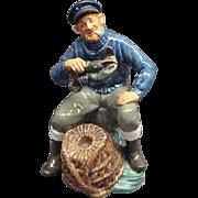 "7 1/2"" Royal Doulton The Lobster Man Figurine HN 2317"