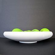 SALE Timeless Lenox Belleek Center Bowl Blanc de Chine White Bisque Parian Porcelain