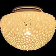 SALE Vetri Murano Glass Leucos Ceiling Wall Lamp Mid Century Modern Dot Light Fixture Toso ...