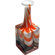 SALE Vintage Mid-Century Murano Art Glass Vase, Circa 1950
