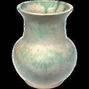 Vintage Roseville Pottery Tuscany Pink Vase, Circa 1930