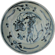 18th Century Chinese Blue And White Bowl