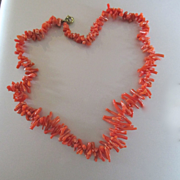 Perfect Little Branch Coral Choker