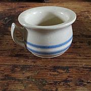 Salesman Sample Miniature 3 Stripe Chamber Pot