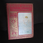 Very Nice Antique 1910 Edition Water Babies Charles Kingsley Illustrations By Margaret Tarrant