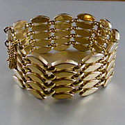 Mic Century Monet Wide Link Bracelet