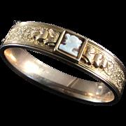 Deco Besty Ross RARE Simmons Gold Filled Bracelet