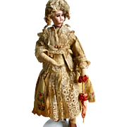 REDUCED Fabulous Jules Verlingue Character Dressed French Doll