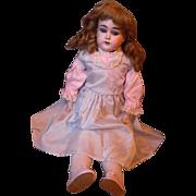 "SALE PENDING 20"" German Bisque doll"