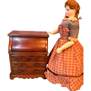 SALE French Fashion Doll's Vanity Case