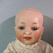 "Antique German 9"" Hertel & Schwab 142 Baby Doll"