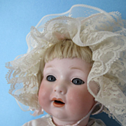 "Rare German Bisque 18"" Armand Marseille Baby Doll"