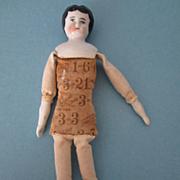 German China Doll Multiplication cloth body