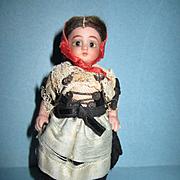 "Antique Simon & Halbig 4"" All Bisque Doll"