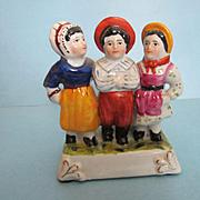 Antique Dated 1883 German China Fairing Figurine