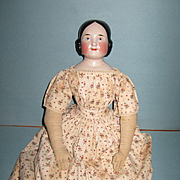 """SALE PENDING Kister 24"""" China Doll with Covered Wagon Hairdo"""