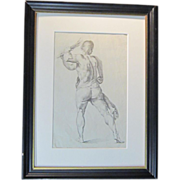 SOLD A 19th Century English Old Master Drawing