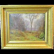 A New England Tonalist Landscape Painting by Harold C. Dunbar (1882-1957)