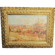 A 20th Century American Impressionist Cragsmoor, New York Landscape by Carroll B. Brown (1860-