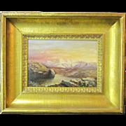A 19th Century American Western Landscape