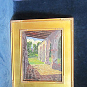 REDUCED A Hoosier School American Impressionist Landscape with Architectural Views