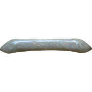 Early Qing Dynasty Jadeite Hair Pick: 1750 - 1800 China
