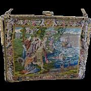 MAGNIFICENT Petit Pointe C.1930's Handbag Pure Mint