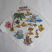 Aloha Hawaii Graphic Hankie