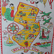 Towel Atlantic City NJ Map & Graphics