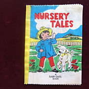 Nursery Tales Cloth Book 1940's