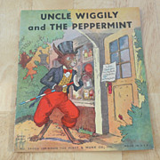 SOLD Uncle Wiggily and The Peppermint – Children's Illustrated Book 1939