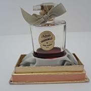 Vintage Salon Palmer Gardenglo Perfume Bottle & Box Elegant