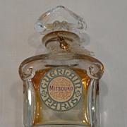 Vintage Marked Baccarat Perfume Bottle For Guerlain Mitsouko