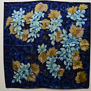 Vintage Scarf Strawbridge & Clothier Silk Italy