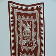 Adirenne Vittadini Scarf ~ Silk ~ American Indian Graphics